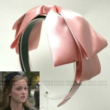 GOSSIP GIRL BLAIR HEADBAND RIBBON SATIN HAIRBAND bow hair accessoryHB1238