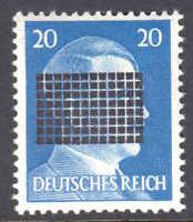 GERMANY 516 1945 SCHWÄRZUNGEN  NETSCHKAU REICHENBERG NH U/M VF