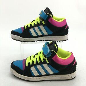 Adidas Originals Decade Mid Athletic Sneakers Womens 8 Multicolor Lace Up Q20673
