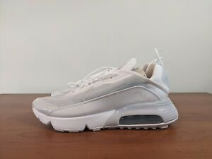 Nike Air Max 2090 White Running Shoes Mens Sneakers Grey BV9977-100 Multi Size