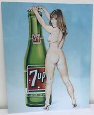 Vintage Reproduction Soda pop 7up Mancave Sign