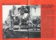Miss America + Runners-Up In Vietnam 1968 Pictorial Jane Jayroe Uso War Tour