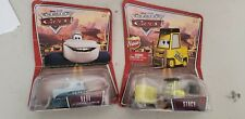 Lot of 2 DISNEY PIXAR THE WORLD OF CARS Yeti The Abominable Snowplow 45 Stacy 25