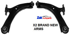 FOR NISSAN QASHQAI (2006-2011) 2 FRONT LOWER WISHBONE SUSPENSION ARMS *NEW*