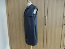 LK BENNETT  GREY SHIRT  DRESS 12 GORGEOUS  cost £219
