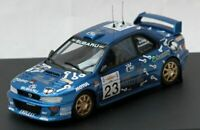 TROFEU 1124 SUBARU IMPREZA WRC model rally car Arai Freeman Acropolis 2000 1:43