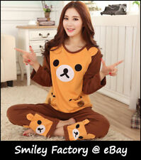 Cute Style Rilakkuma San-X Lounge Pant ,Sleep Pajama, Sleepware Clothing 1set
