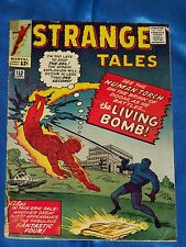 STRANGE TALES # 112 Sept. 1963, HUMAN TORCH, Fantastic Four Appearance, GD/ VG