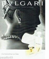 PUBLICITE ADVERTISING 106  1998   Eau fraiche parfum femme par       bulgari
