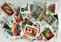 LIQUIDATION - CANADA - PACKET/COLLECTION - 100 DIFFERENT ONLY LARGE STAMPS !!!