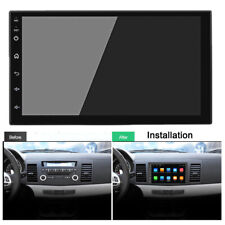 "7"" 2 Din Android 9.1 Car Stereo Radio HD 1080P Touch Screen Quad-core GPS Wifi"