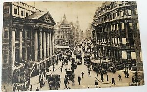 Postcard - The Mansion House & Cheapside, London, Raphael Tuck & Sons' No.1563