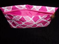 Estee-Lauder-Pink-flower-pop-art-style-make-up-bag