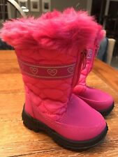 Rugged Bear Toddler Girls RB72166 Pink Size 5 Winter Snow Boots