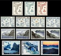 Faroe Islands #7-20 MNH Year Set 1975
