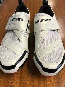 Shimano SH-TR32 White Road/Tri Cycling Shoe Brand New