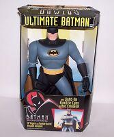 "Ultimate Batman 15"" Figure w/Double Barrel Assault Weapon Lights Up NIB"
