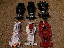 Vintage Scalextric JOBLOT 3 Bundle F1 Grand Prix Ranura de Reparación de Repuesto coches