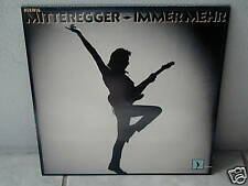 """*****HERWIG MITTEREGGER""""IMMER MEHR""""-12""""Inch LP*****"""