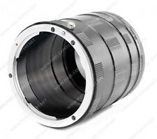 SET EXTENSION TUBE PER SONY NEX TUBI PROLUNGA MACRO A6500 A6300 A6000 A7R