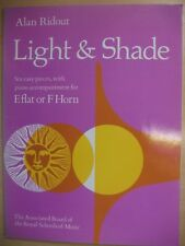 RIDOUT 'Light & Shade' Easy pieces for Eflat or F Horn  pub.ABRSM