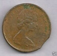 1977  Canada  1 Cent  Clipped Edge