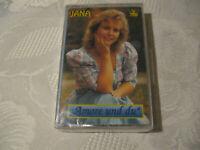 MC Jana Amore und du  Musikkassette Tape NEU AVATON 920 294