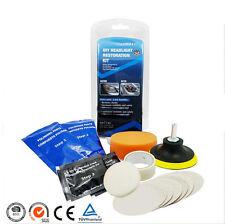 Headlight Lens Restoration System Professional  Restorer Tool Kit Plastic