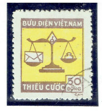 VIET NAM 1955 Postage Due Stamps FU CV $9.00