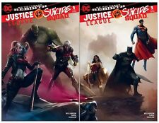 Justice League vs Suicide Squad #1 Francesco Mattina joining covers 1st Print NM