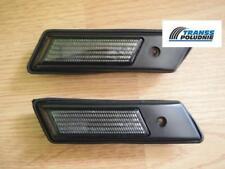 SMOKED SIDE LIGHT REPEATER INDICATORS SET BMW 3 (E30 E36) 5 (E34) NEW
