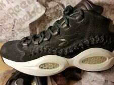 Reebok Question Mid HOF V72718 Black Suede Basketball Shoes Medium (d M) Mens  Blacks 880aa4be1