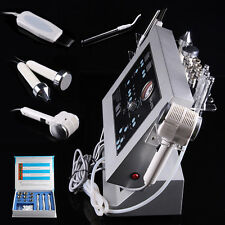 4 in1 Dermabrasion Microdermabrasion Ultrasonic Hot Cold Scrubber Skin Device US