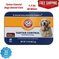 40 Mint Advanced Care Dental Dog Chew Treat For Tartar & Bad Breath Control Beef