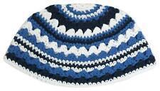 Crochet Frik Striped Jewish Holy Hat Yarmulke Knitted Tribal Jewish Yamaka Kippa