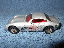 "2003 MATCHBOX TVR TUSCAN S 3"" BUGS BUNNY LOONEY TUNES SILVER 1:64 DIECAST CAR -"