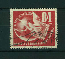 East Germany 1950 Philatelic Exhibition stamp. Used. Sg E19.