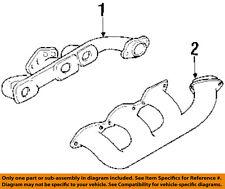 GM OEM-Exhaust Manifold 24501727