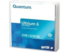 QUANTUM LTO6 MR-L6MQN-01 ULTRIUM TAPES 2.5TB 6.25TB LTO-6 WARRANTY 5 PACK NEW