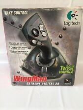 Logitech WingMan Extreme Digital 3D Joystick With Throttle USB