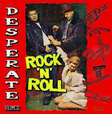 JUST OUT! - ROCKABILLY & BLUES  - DESPERATE ROCK N ROLL VOL. 22 LP