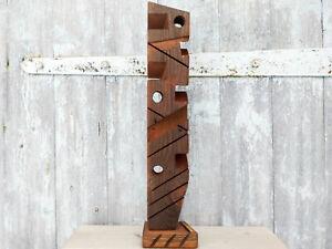 Abstract wood art sculpture Original art Contemporary art Modern wood sculpture