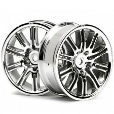 HPI Racing 3772 10-Spoke Sport Wheel 26mm Chrome (2) Sprint 2 / E10 Ford