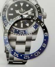 02082c36098 Ghiera per rolex GMT batman in CERAMICA dimensioni 38 mm.