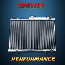 2 Row Aluminum Radiator For NISSAN SKYLINE R33 R34 MT Manual 1993-2008