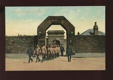 Somerset PORTLAND Convicts proceeding to work c1900/10s? PPC by Valentine