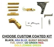 GTG Lower Parts Kit For Glock 17 19 Gen 1-3  Extended Controls w/o Trigger