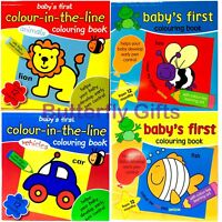 My Colouring Book Baby's First Colouring Book Colour in the line From 12 Months