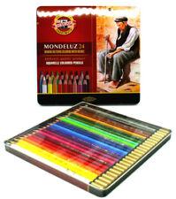 Koh-I-Noor Mondeluz (3724) Set of 24 Artist's Coloured Pencils , Aquarell ,New