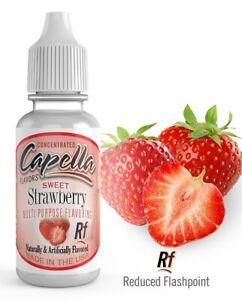 Capella flavor drops Sweet Strawberry RF 13ml